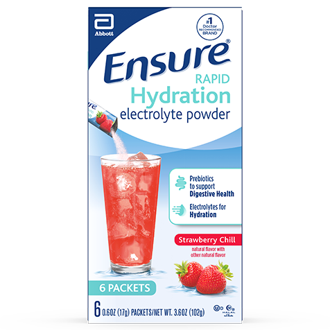 Ensure® Rapid Hydration Strawberry Chill Product Package